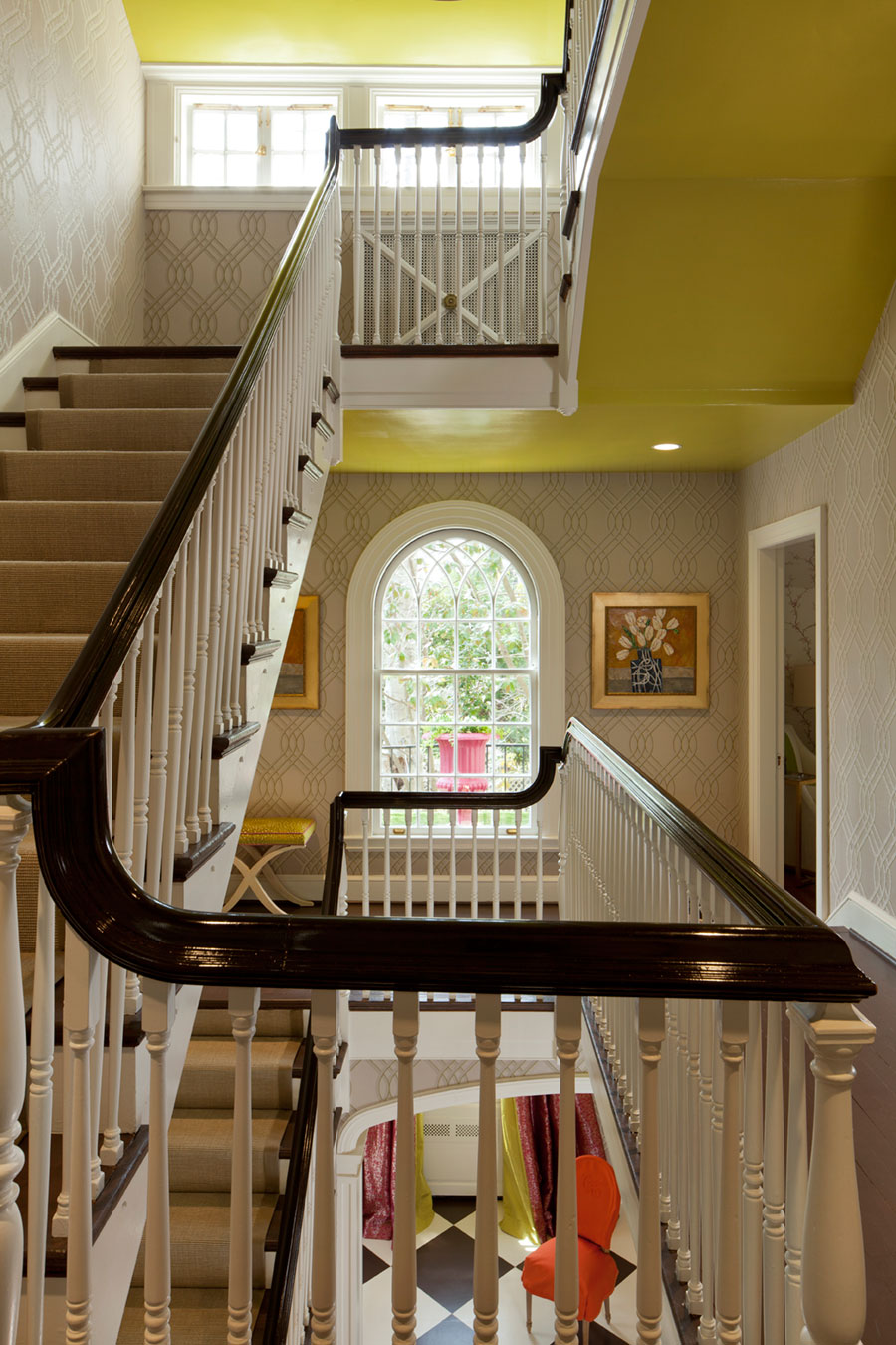 2014 DC Design House Foyer Camille Saum Interior